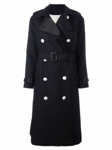 The Reracs double-breasted trench coat - Blue