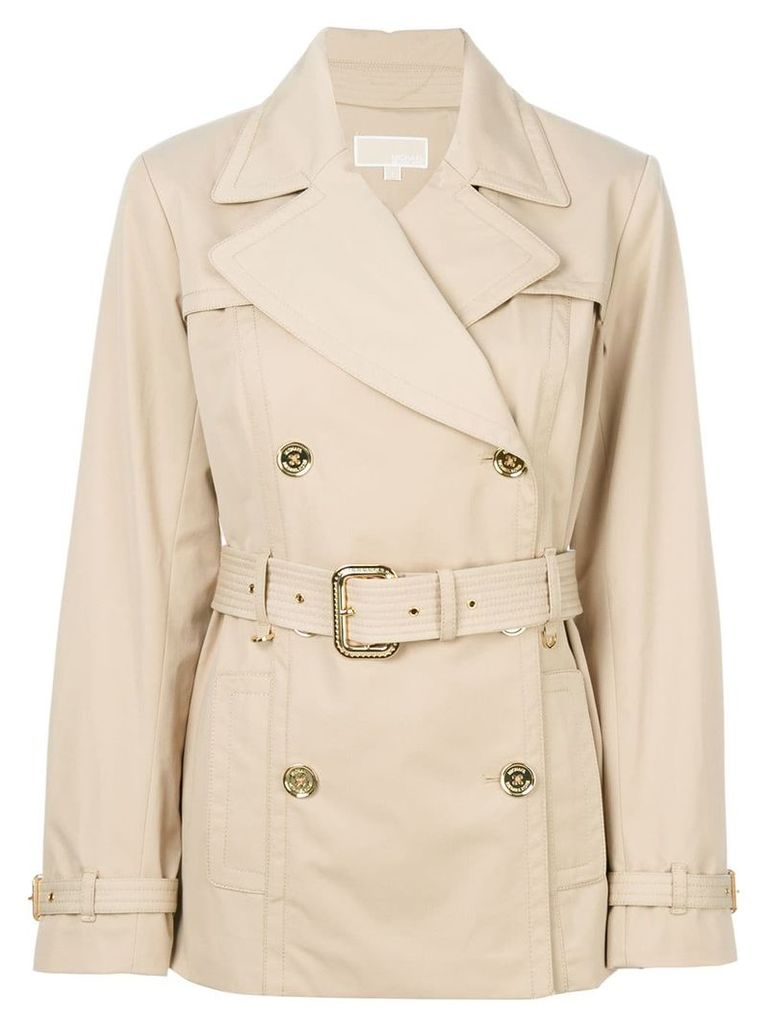 Michael Michael Kors belted trench coat - Neutrals