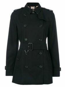 Burberry The Kensington - Short Trench Coat - Black