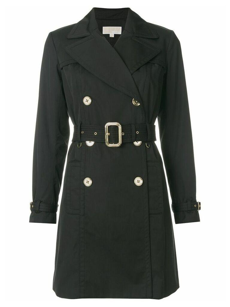 Michael Michael Kors belted trench coat - Black