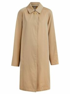 Burberry The Camden Car Coat - Brown