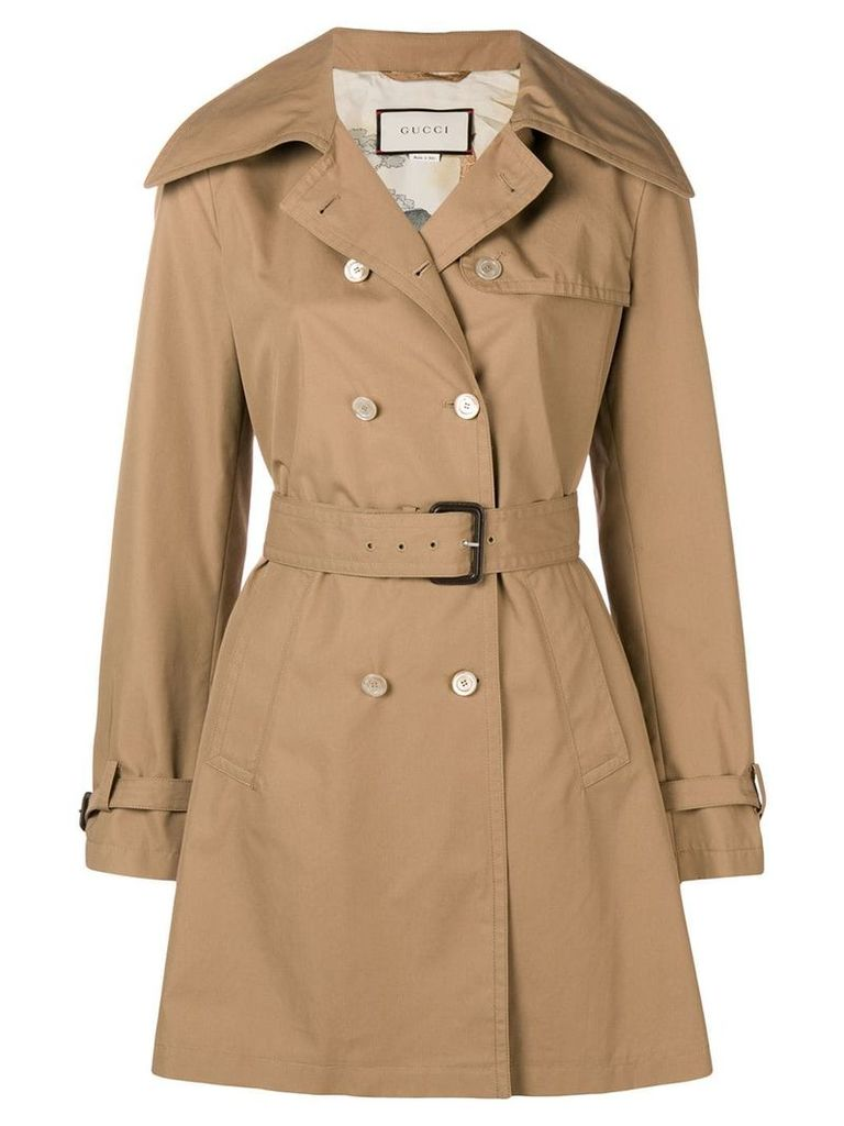 Gucci classic trench coat - Neutrals
