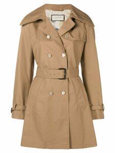 Gucci classic trench coat - NEUTRALS