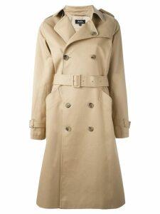A.P.C. 'Greta' coat - Neutrals