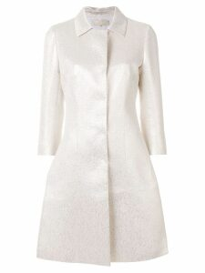 Mantu fitted trench coat - Metallic