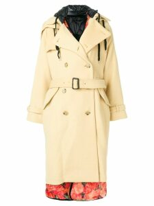 Facetasm classic trench coat - Neutrals