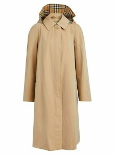 Burberry tropical gabardine car coat - Brown