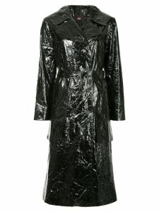 Sies Marjan Bessie fitted trench coat - Black