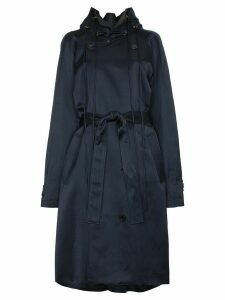 Y/Project Double breasted trench coat - Blue