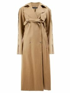 Rokh trench coat - Brown