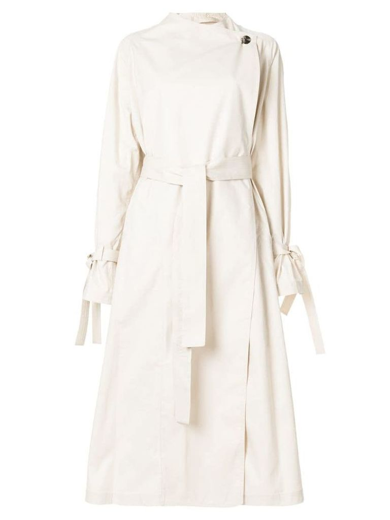 JW Anderson oversized trench coat - Neutrals