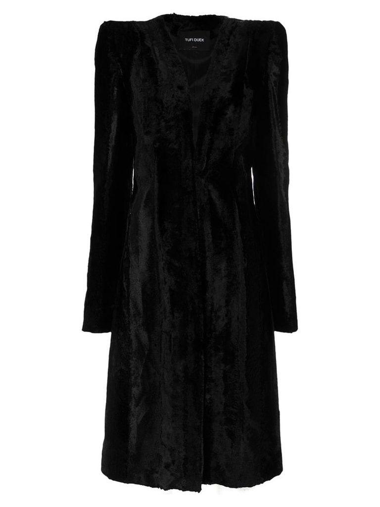 Tufi Duek faux fur coat - Black