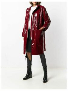 Isabel Marant Ensel long waterproof coat - Red