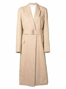 Victoria Beckham waisted trench coat - Neutrals
