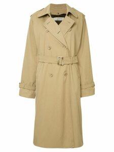Tu es mon TRÉSOR trench coat - Brown