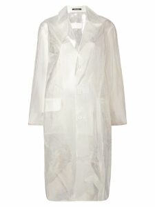Maison Margiela transparent raincoat - Neutrals