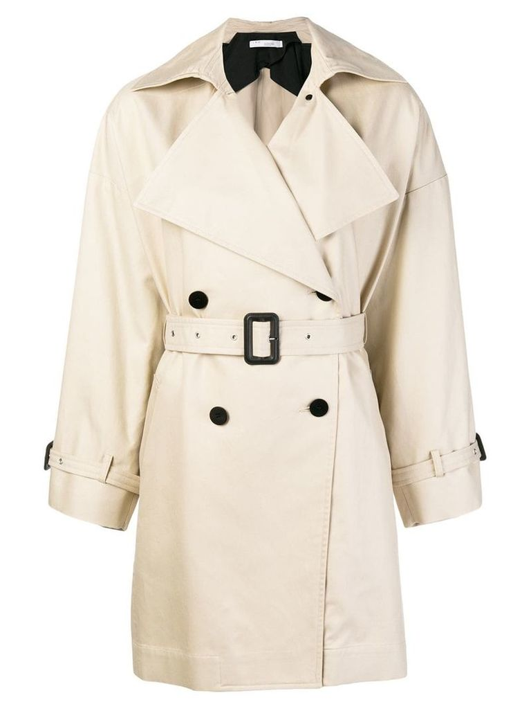 Iro Harper trench coat - Neutrals