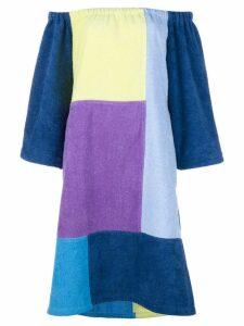 Lisa Marie Fernandez patchwork dress - Multicolour