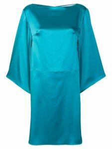 Gianluca Capannolo boat neck midi dress - Blue