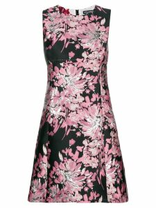 Dolce & Gabbana floral embroidered shift dress - Pink