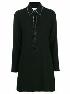 Victoria Victoria Beckham studded keyhole shirt dress - Black