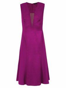 Tufi Duek tulle panel A-line dress - 43760