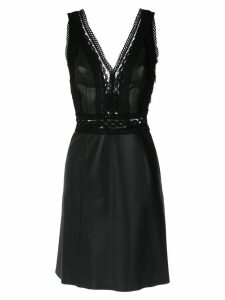 Nk V-neck dress - Black