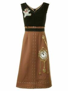 Dolce & Gabbana Wonderland patch dress - Black