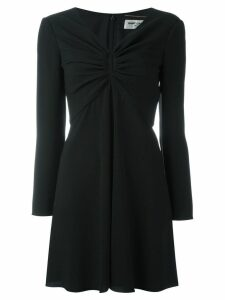 Saint Laurent key-hole mini dress - Black