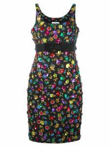 Moschino flower power dress - Black