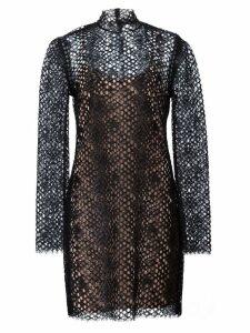 Alexander Wang lace mini dress - Black