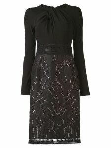 Talbot Runhof Nolena dress - Black