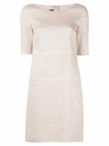 Talbot Runhof Motta dress - Neutrals