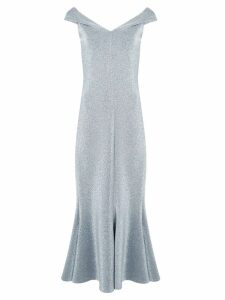 Rosetta Getty metallic effect dress