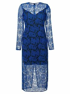 Dvf Diane Von Furstenberg lace midi dress - Blue