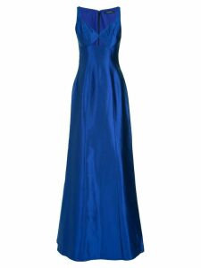 Tufi Duek silk gown - Blue