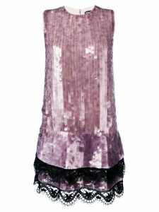 Tom Ford sequined shift dress - Pink