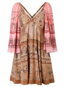 Valentino Jungle Of Delight dress - PINK