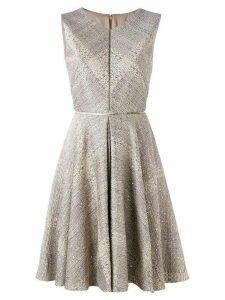 Talbot Runhof sequin embellished dress - NEUTRALS