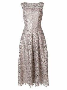 Talbot Runhof paillette-embellished dress - Neutrals