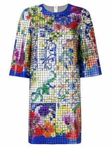 Dolce & Gabbana mosaic Majolica print dress - Multicolour