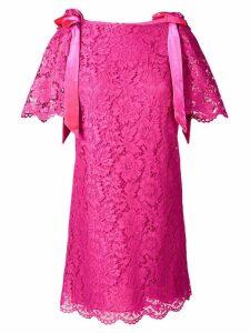 Valentino lace short dress - Pink
