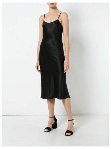 Voz Liquid midi dress - Black