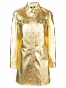 Calvin Klein 205W39nyc uniform shirt dress - Yellow
