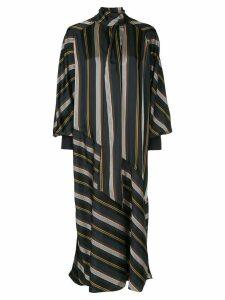 Roksanda striped midi dress - Blue
