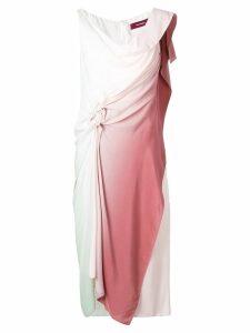 Sies Marjan draped gradient dress - Pink