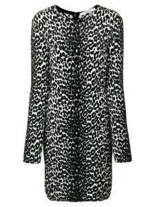 Givenchy animal print longsleeved dress - Black