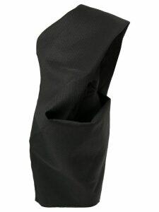 Rick Owens off-shoulder tunic dress - Black