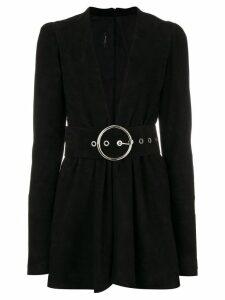 Manokhi short belted dress - Black