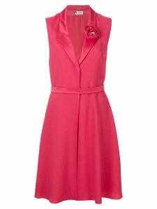 Lanvin rosette detail dress - Pink